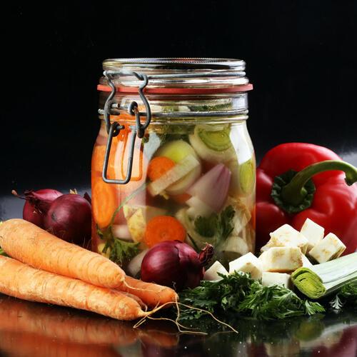 conserver legumes en bocaux
