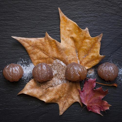 marrons glacés sucre