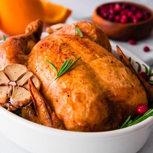 coloration poulet roti